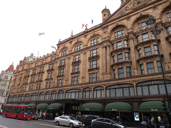 Harrods store Knightsbridge