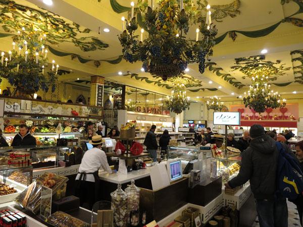Inside Harrods Store