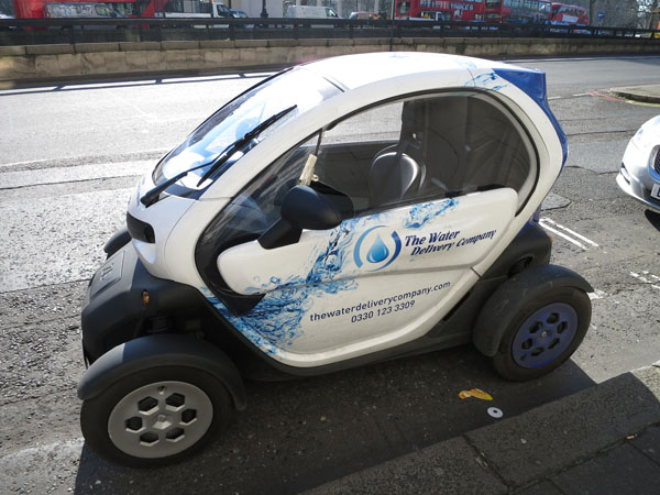 Renault electric city car