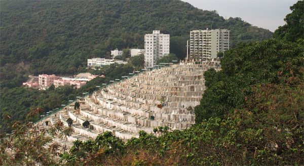 Cemetry on Hong Kong Island